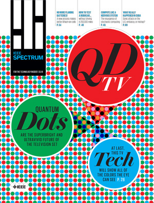 IEEE Spectrum, March 2018 - Your Guide to Television's Quantum-Dot Future
