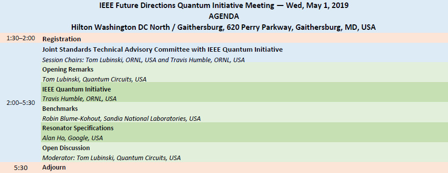 IEEE Quantum Meeting 2019