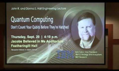 Quantum Computing: Don't Count Your Qubits Before They're Hatched | Robert Sutor, IBM